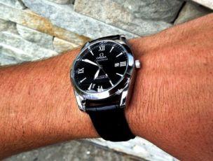 2 ЦВЕТА Живые фото! Кварцевые мужские часы Omega под Tissot i Rolex