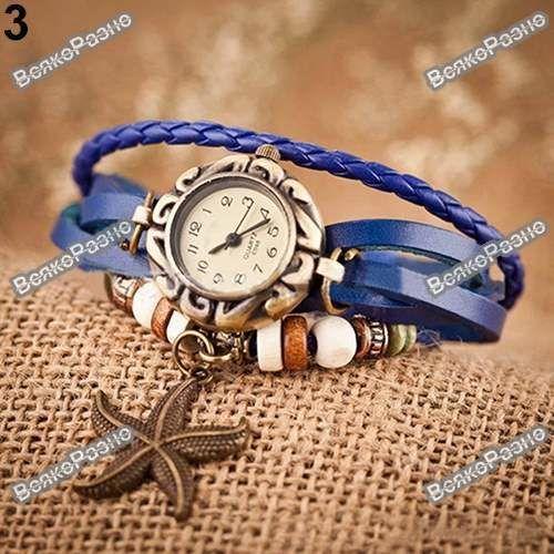 1314eeda Купить сейчас - Женские наручные часы браслет синего цвета: 85 грн ...