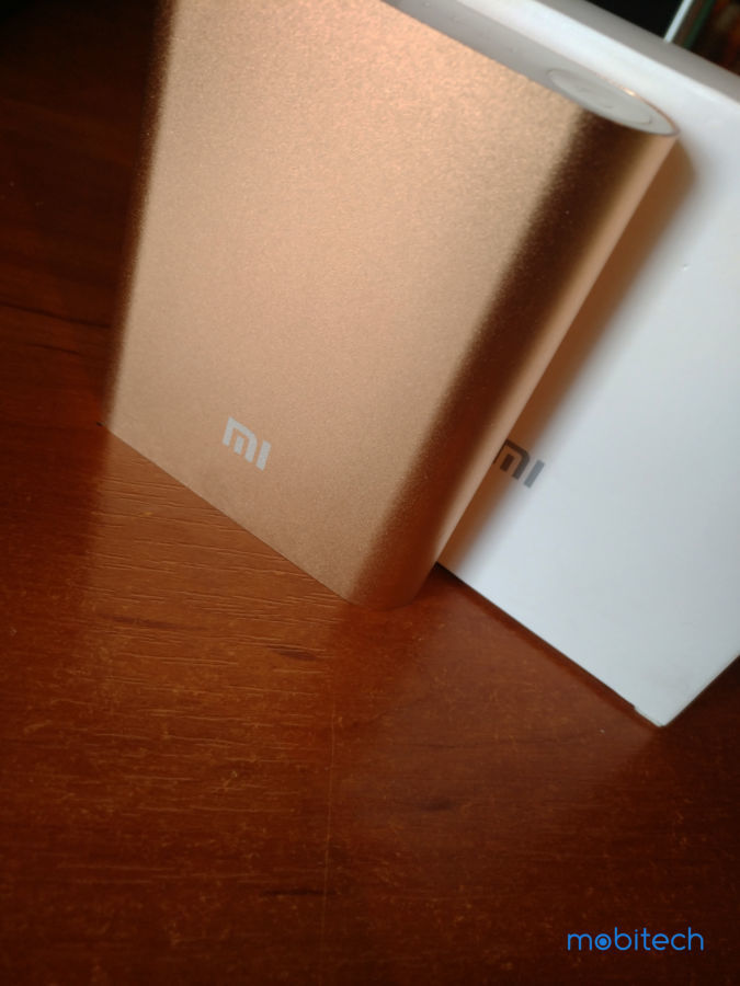 Power Bank Xiaomi 10400 mAh (GOLD) + USB