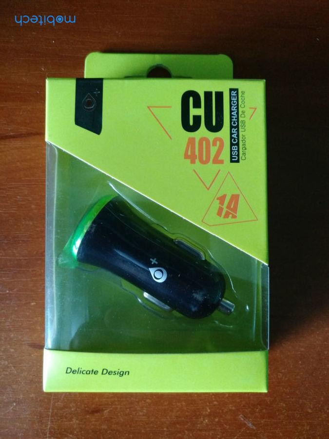 Автомобильный адаптер CU 402 (1.0A)