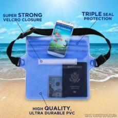 Водонепроницаемая сумка на пояс для плавания для телефона, документов