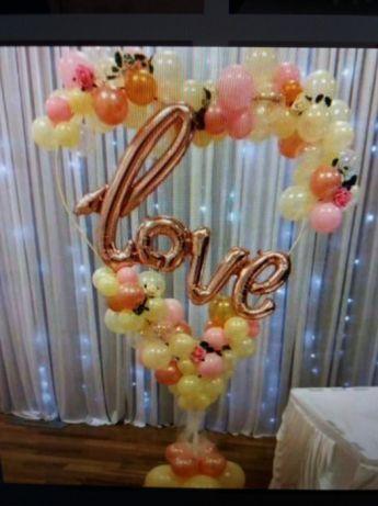 Оформлення весілля кульками  17 грн. - Весільні сукні Тернопіль ... ea0d83007483d