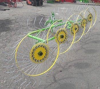 Бярдски граблі ворушилки Сонечко 5 колес грабли ворошилки Солнышко