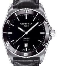 Certina DS First Ceramic Submariner, стекло - сапфир