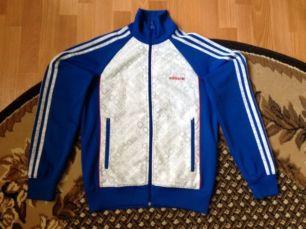 Олимпийка кофта реглан Adidas original размер S-M
