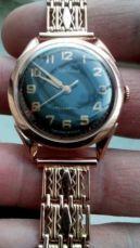часы Кировские с браслетом, все золото, СССР, оригинал