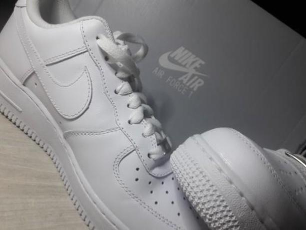 bfb0bf97 Nike Air Force 1 Low (White) Оригинал.Новые,купил месяц назад ...