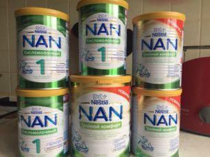 Молочная смесь NAN детское питание НАН Nestle