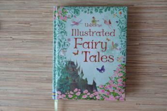 Illustrated fairy tales by usborne, книга на английском