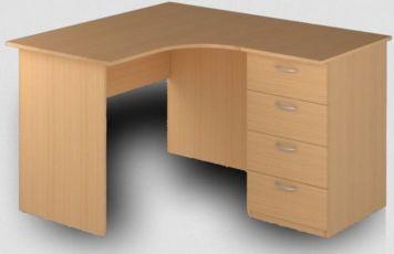 Столы угловые с 4-мя ящиками. (новые). Всегда на складе. Офисные столы