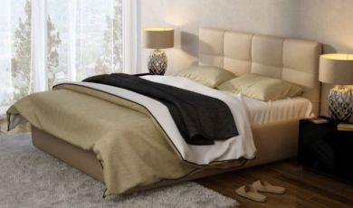 Кровать мягкая Милея Городок в ткане или экокоже
