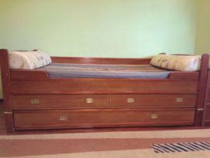 Кровать диван для двоих детей Vox Польша
