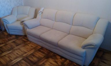 Диван-софа с креслом