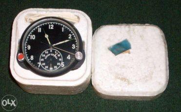 Часы 123-ЧС приборные авиационные самолётные танковые Новые СССР