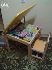 Столики и стульчики детские. Стулья и столы детские для детских садов.