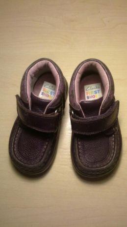 Туфли ботинки для девочки CLARKS  120 грн. - Для дівчаток Київ ... 3640ac0cd017e