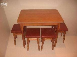 Новый кухонный стол и табуретки! Кухонный набор  стол + 4 табуретки! 69314810261cf