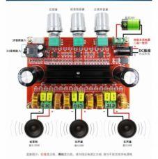 Усилитель TPA3116D2 50Wx2 + 100 Вт 2,1 канальный цифровой сабвуфер