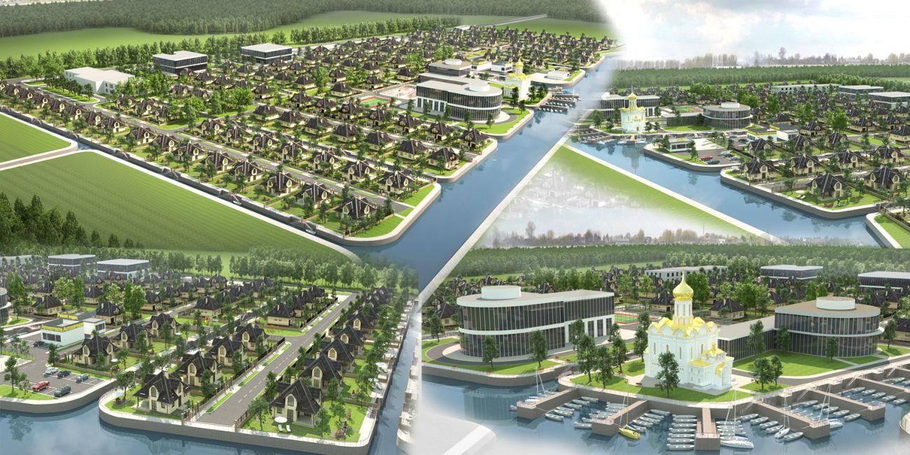 Архитектурная 3d визуализация, дизайн-проект дома