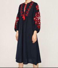 Платье Zara, платье Зара, Бохо платье