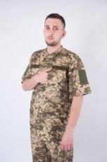 Рубашка Военно-полевая ЗСУ пиксель, Военная Рубашка из Легкой ткани