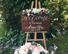 Свадебная табличка из фанеры . Декор для свадьбы или фотосессии