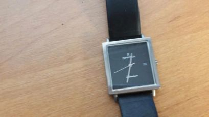 Часы Romanson DL2133M, титан+сапфир, swiss quartz
