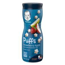 Gerber Puffs, пуфики, пафсы, пафы, пуфсы, закуска из воздушного зерна