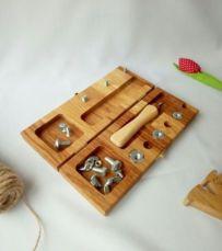 Развивающая игрушка Монтессори. Подарок для мальчика. Деревянная игра.