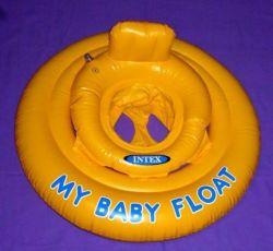 Детский надувной круг кресло сиденье плот матрас для купания плавания.