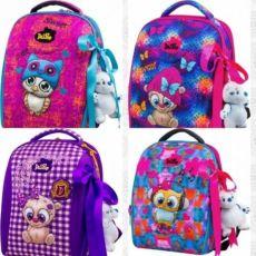 Ранец DeLune 7mini мешок пенал мишка фабричный рюкзак для девочки