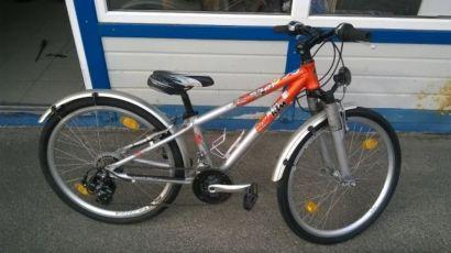 Детский немецкий велосипед КТМ 24