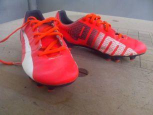 Детские футбольные бутсы Puma Evospeed 4.3 FG Junior размер 34