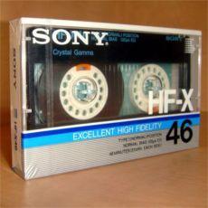 Коллекционная запечатанная аудиокассета Sony HF-X 46