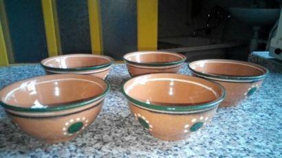Керамические миски( тарелки)