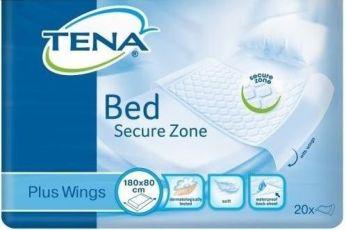 Одноразовые пелёнки простыни Tena Bed plus wings