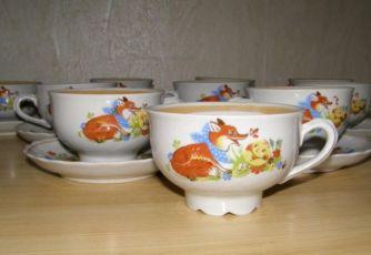 Чайный набор детской посуды