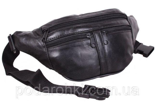 ed3991235285 Кожаная сумка на пояс мужская барсетка поясная через плечо бананка ...