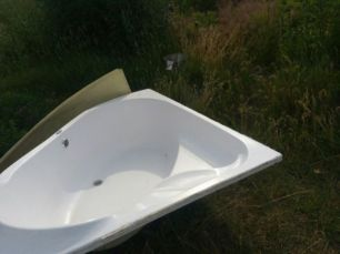 Угловая ванна Лексус качество супер