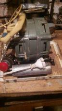 Продам электродвигатель ДАО Ц, подготовленный под наждак.