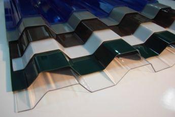 Профилированный поликарбонат - противоударный прозрачный шифер