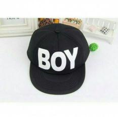 Кепка бейсболка снепбек реперка .кепочка сне Boy черная 50-54 размер