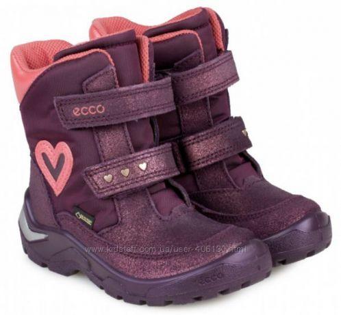 Ботинки зимние для девочки с мембраной Gore-tex 9eaa9355321e2