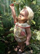 Оригинал!1950год.Кукла Светка.Кукла Опилочная.Кукла Ссср.игрушка ссср.