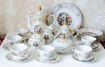 Чайный сервиз Мадонна, 30 предметов, ГДР, новый