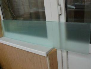 Продам стекло матовое сатин белый 10 мм 248х1230 -1шт.