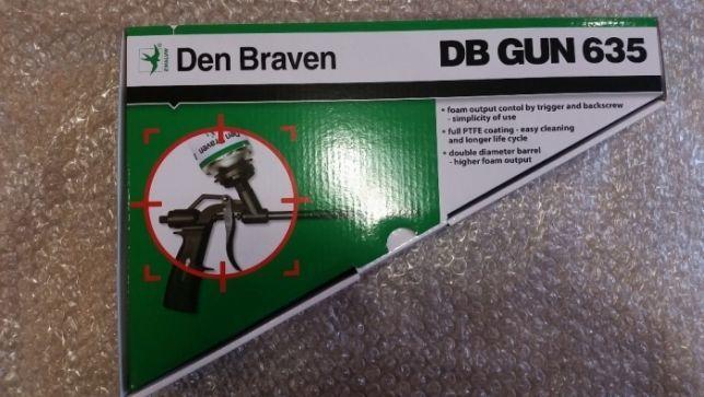 Пистолет механический тефлоновый DB GUN 635 (Den Braven)