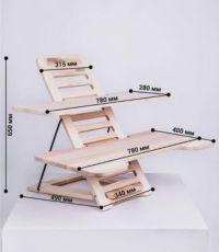 Подставка - стол для работы стоя. Підставка - стіл для роботи стоячи