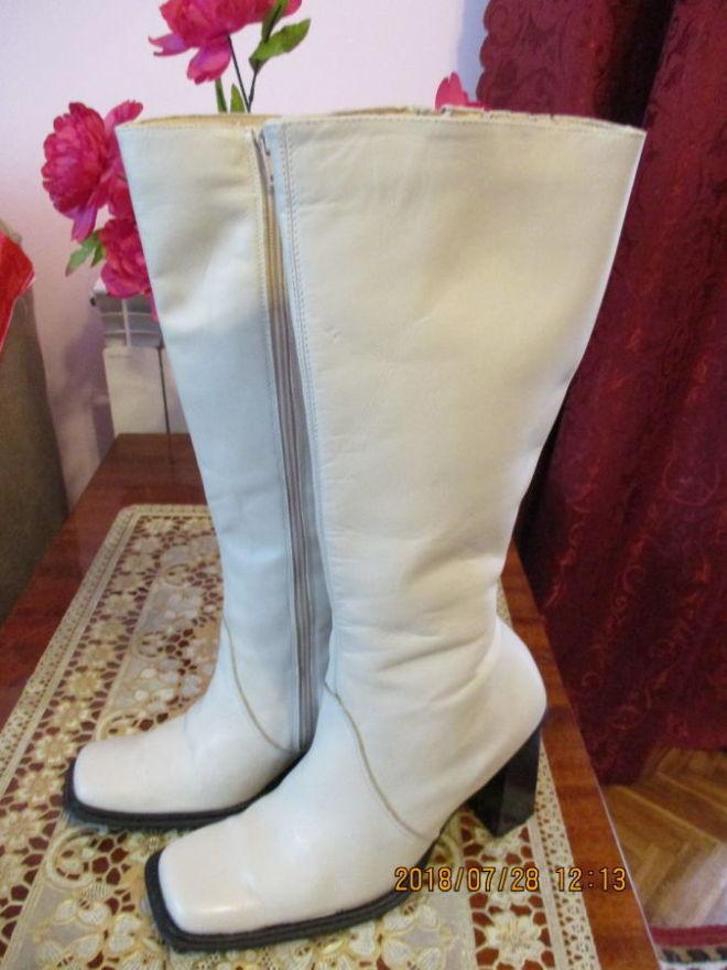 Демисезонные кожаные сапоги Bianco Footwear
