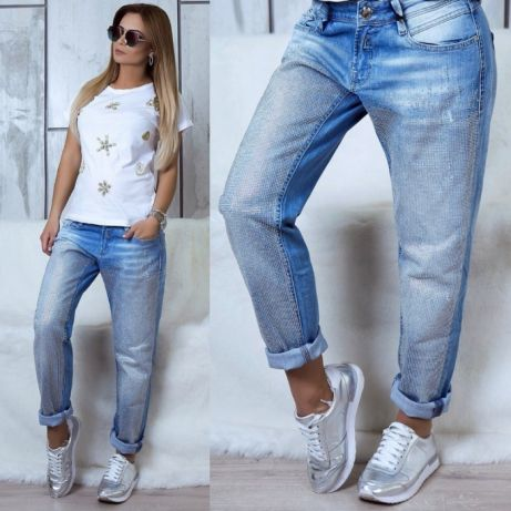 ca41f3535bc7 Светлые легкие брендовые женские джинсы LIUZIN jeans+ белый ремень